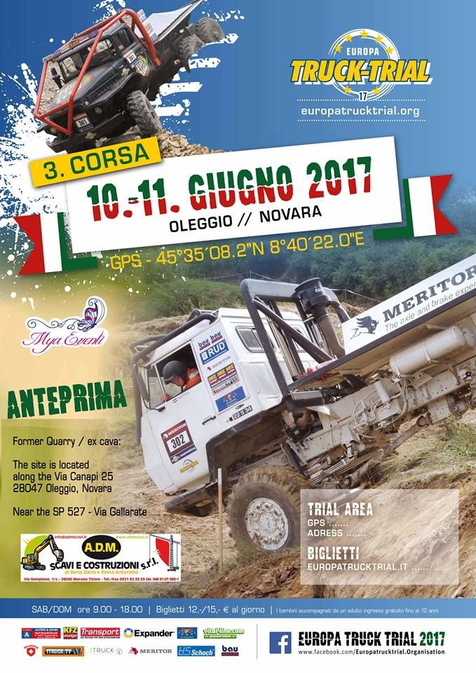 https://flic.kr/p/TLTXnb | EUROPA TRUCK TRIAL 2017 | WWW.EUROPATRUCKTRIAL.ORG Truck Trial is a motor sport where it comes to driving trucks or German truck in difficult terrain. You have to maneuver his truck through the previously inserted by the organizers gates with a lot of skill and ability. These goals are not easily accessible, so that it is done to the drivers and their passengers not easy. In the sections that are driven, man and machine are pushed to their limits. The rating takes…