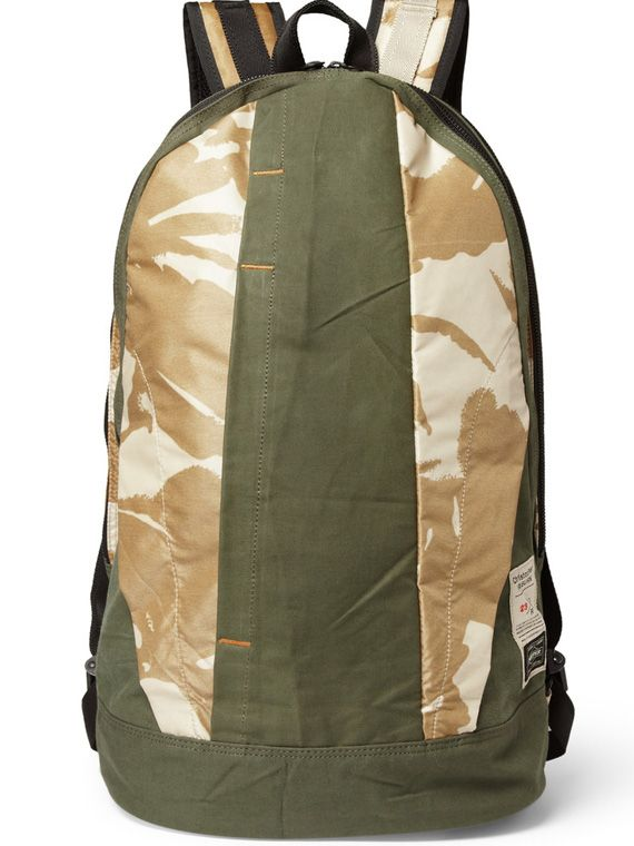 Christopher Raeburn x PORTER   Limited Edition Canvas Backpack