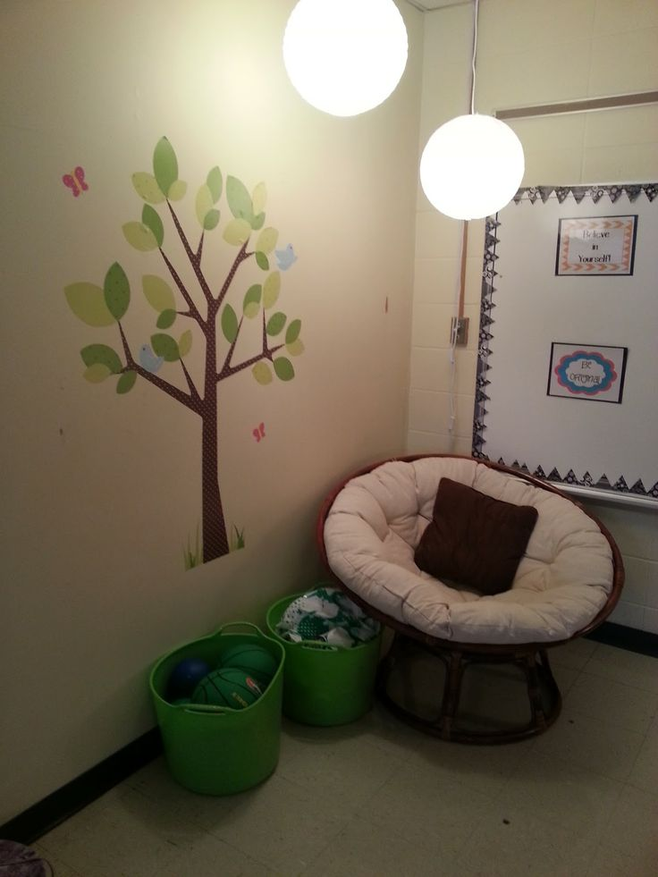 DREAM Counseling office! She has everything. Room for groups, guidance, and individuals. LOVE!