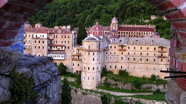 The Saint George the Zograf Monastery-Bulgarian monastery on Mount Athos.founded by three Bulgarian monks from Ohrid – Moses, Aaron and Ioannis, at the beginning of the tenth century.