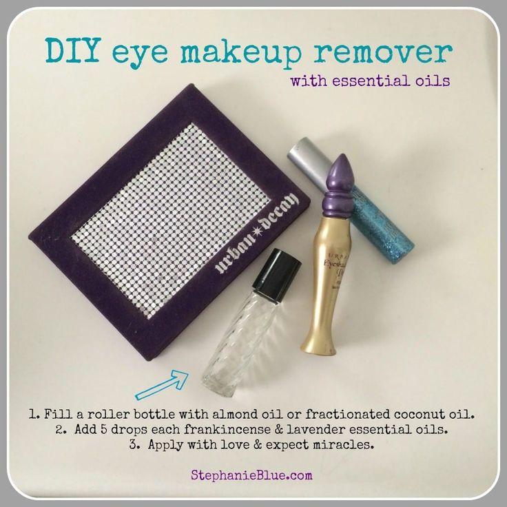 DIY Augen Make-up Entferner mit ätherischen Ölen