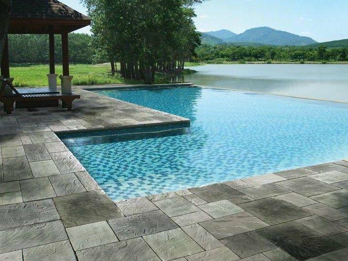 Oltre 20 migliori idee su pavimentazione da giardino su - Pavimenti bordo piscina in legno ...