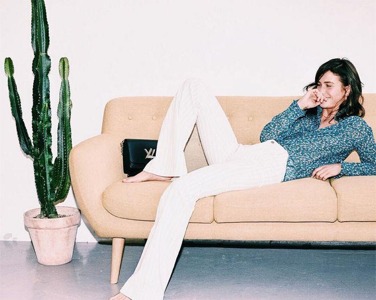 ANNE sofa  @eurowomandk  @emma_leth ♡  #sofacompany #sofacompanypolska #sofa #meble #wnetrza #dekoracje #fotel #anne #kaktus #stylskandynawski