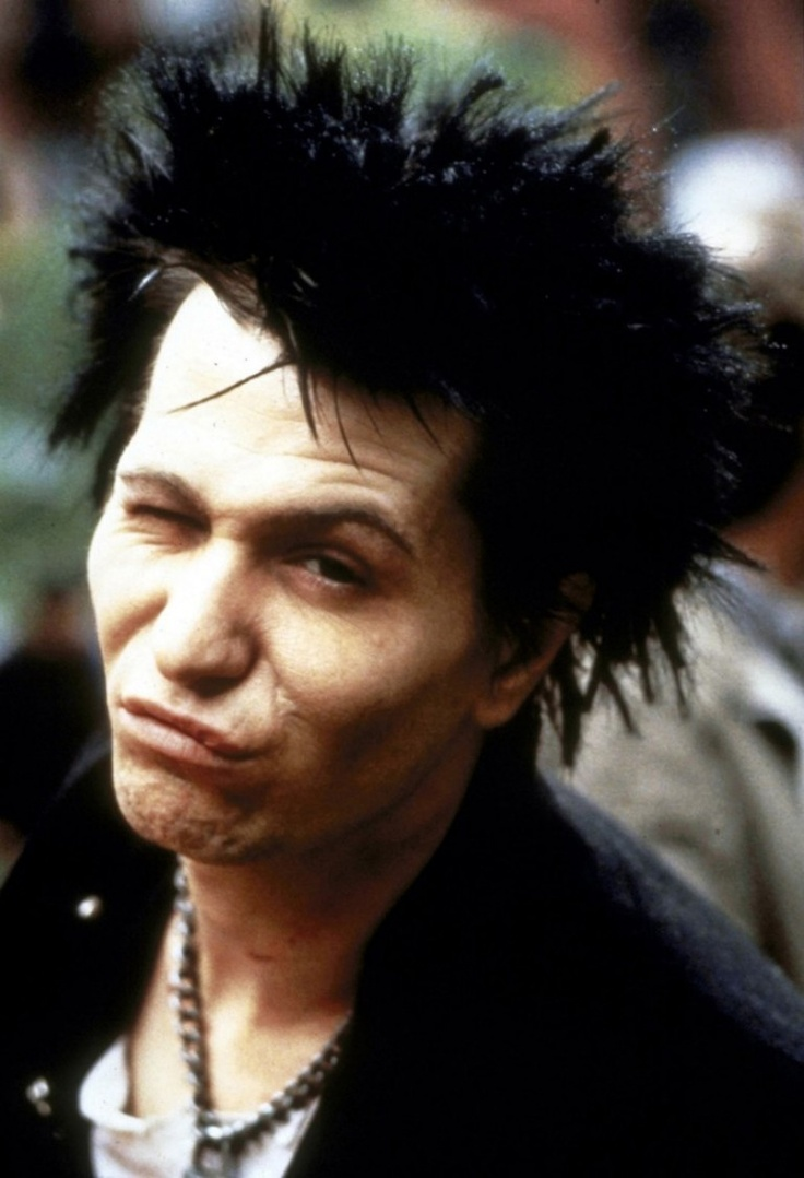 Gary Oldman as Sid Vicious in Sid and Nancy (1986)