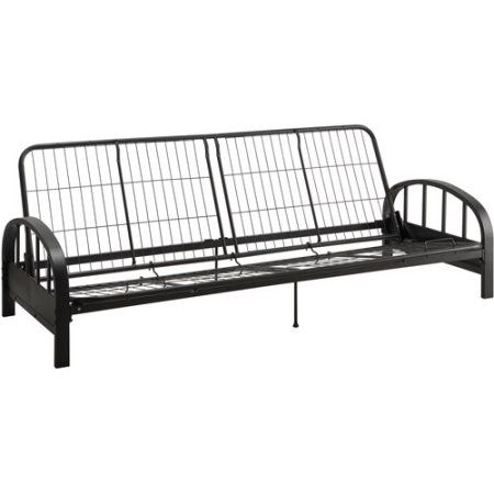 Aiden Metal Futon Frame, Black