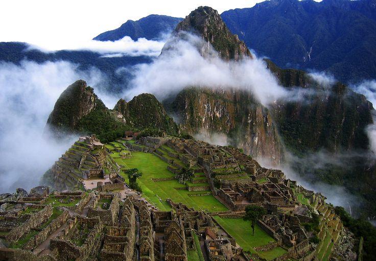My numero uno: Machu Pichu, Peru