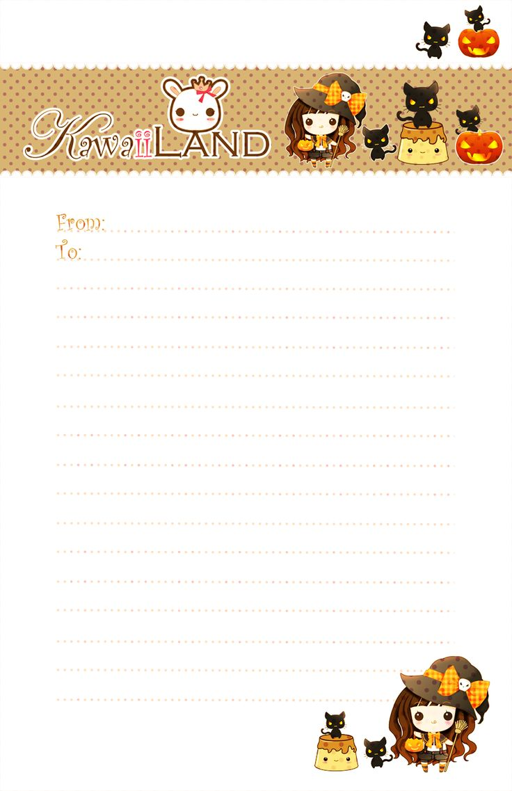 best halloween letters ideas cute halloween   halloween letter paper by tho be on