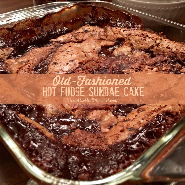 Today's tried & true is a fantastic oldie but goodie recipe from Betty Crocker - Old-Fashioned Hot Fudge Sundae Cake!     An ooey gooey c...