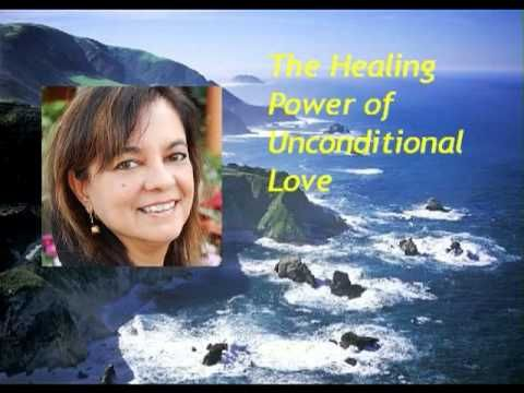Anita Moorjani - The Healing Power of Unconditional Love. I love this interview. Anita Moorjani shares the extraordinary story of her near death experience, dying from end stage lymphoma, and her message of unconditional love. Very heart-opening and inspirational. I know I'll listen again and again.