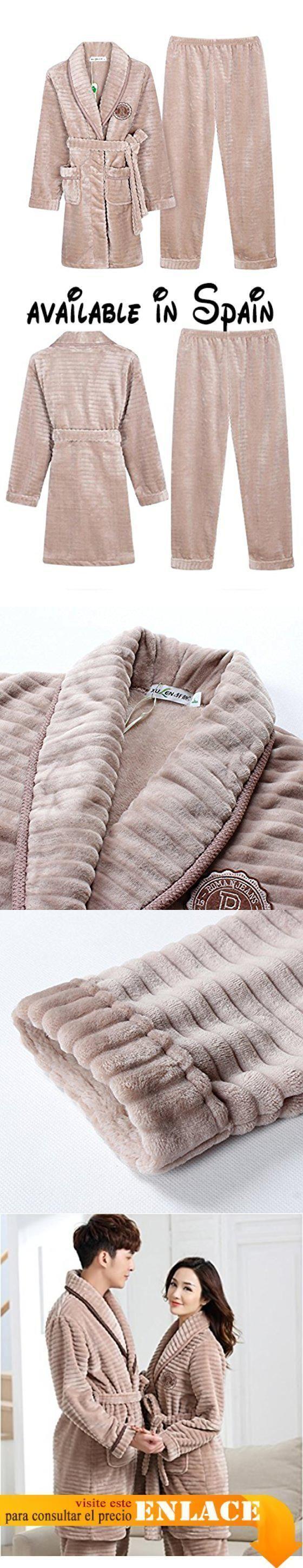 B0756D7TQ6 : Parejas pijamas otoño e invierno largo espesar coral ropa de cama de mujer-A L-Aplicar Altura:63in. Material:FranelaGruesa CalientePiel SuaveCómodo Y Respirable. Un Buen Regalo Para Su Persona Especial Haga Su Hogar Más Caliente. Esta sección es femenina. Si usted tiene cualesquiera problemas con nuestro producto usted puede entrarnos en contacto con en cualquier momento haremos nuestro mejor para servirle.. 10-15 días laborales usted recibirá su #ropadecama