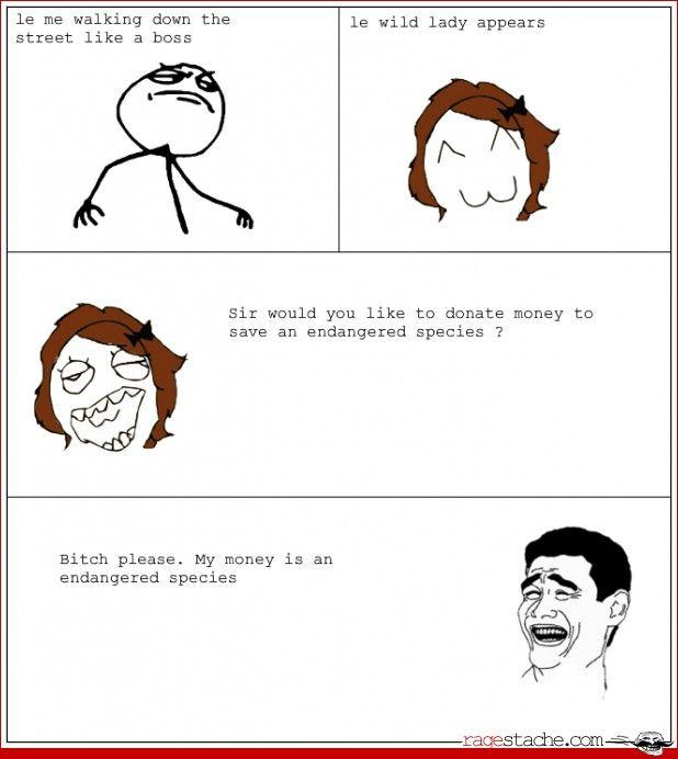Comic - My money