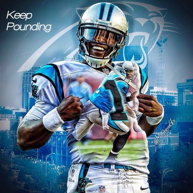 Cam Newton #keep pounding #one love