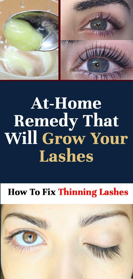 Natural Remedies to Grow Longer Eyelashes and Fuller Eyebrow