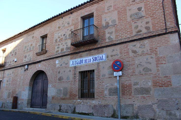 Edificio de estilo barroco en los juzgados de lo social