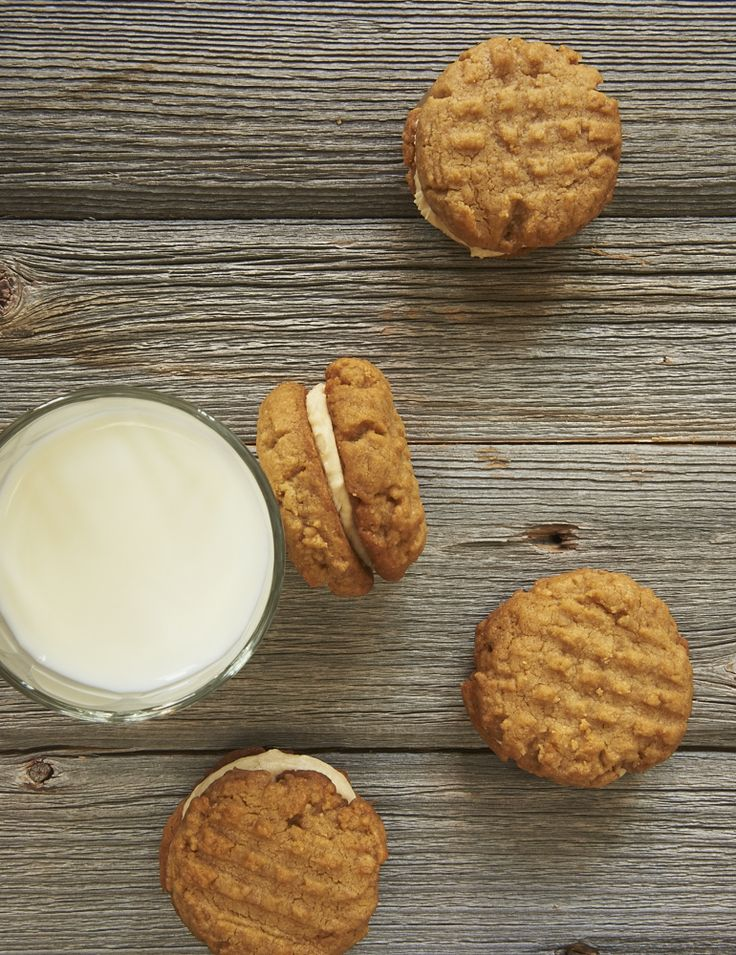 Get a double dose of peanut butter in these Peanut Butter Sandwich Cookies.