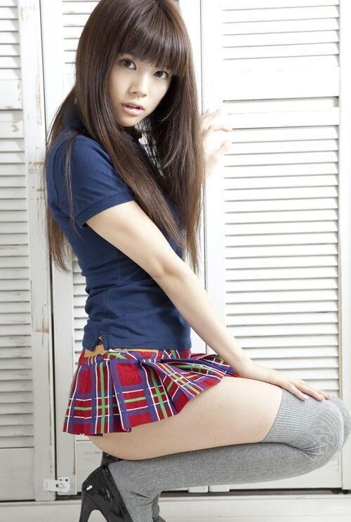 Asian girl cute #schoolgirl .