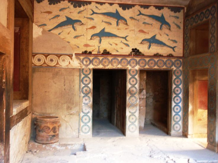 Knossos palace, Heraklion, Crete, Greece