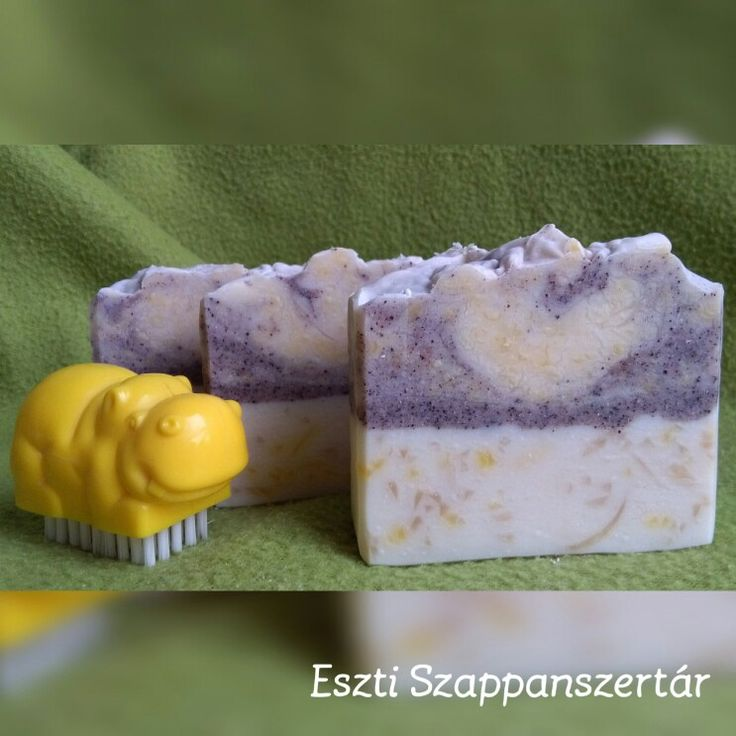 Indian Summer soap with avocado seed