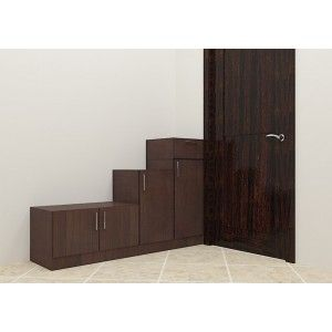 Buy shoe rack @ the best price only at scale inch. Made up of plywood with laminate finish