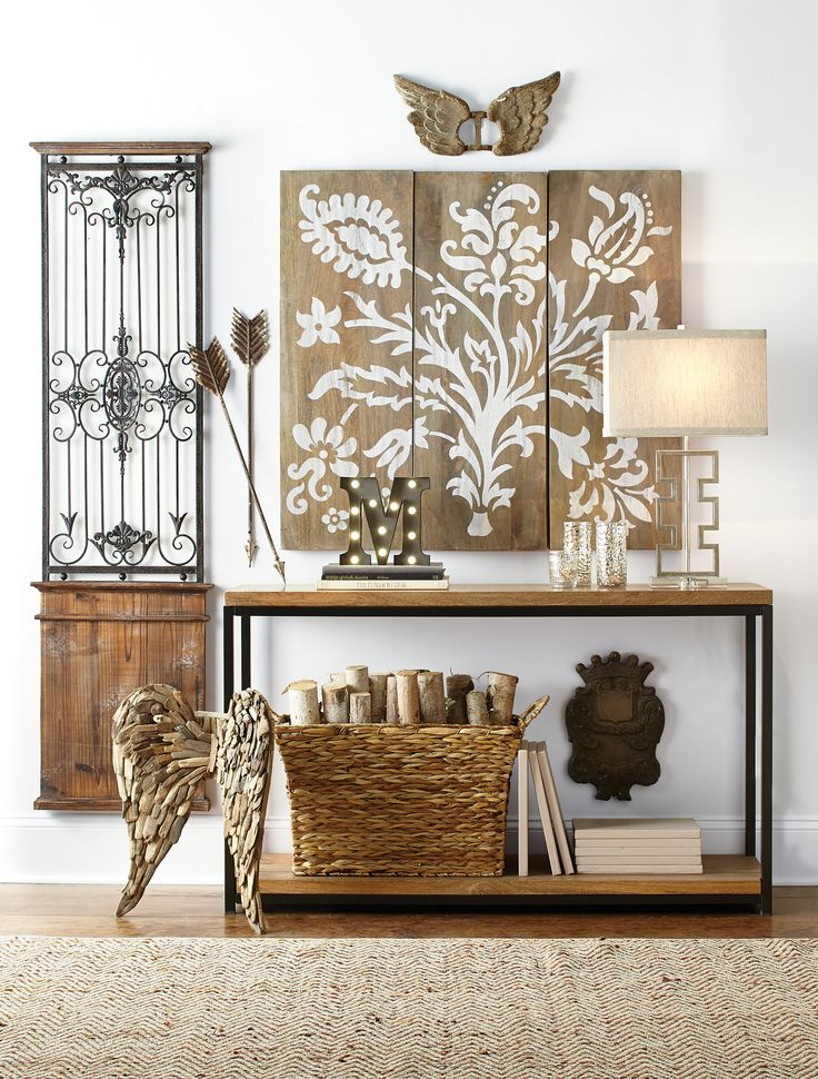 244 best Decor images on Pinterest | Wall mirrors, Console tables ...