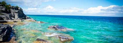 Touring the tip of the Bruce  Sparkling waters, shipwrecks and Flowerpot Island