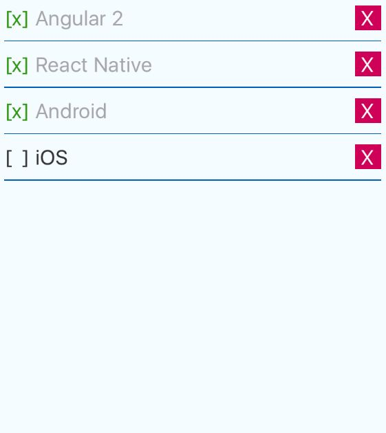 Angular: Angular 2 + React Native