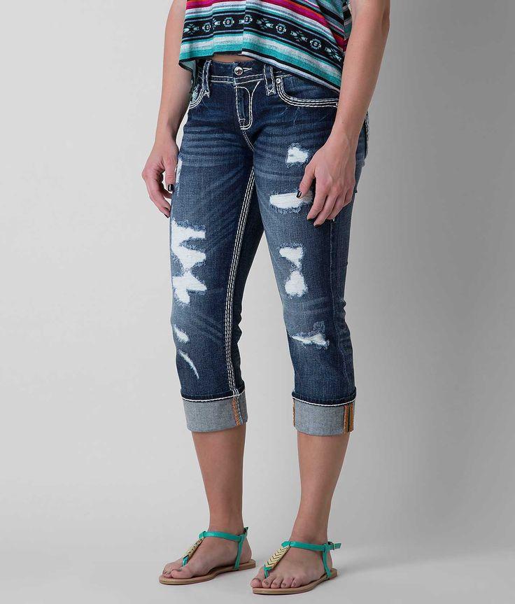Rock Revival Nancy Stretch Cropped Jean - Women's Crops | Buckle