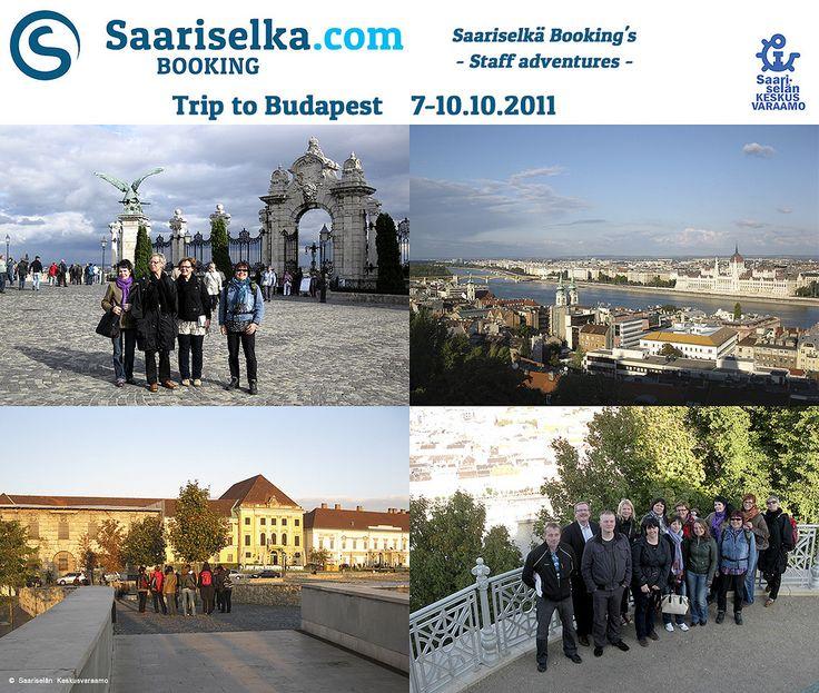 Trip to Budapest 7-10 October 2011 | Saariselka.com #saariselka #saariselkabooking #staffadventure #saariselankeskusvaraamo