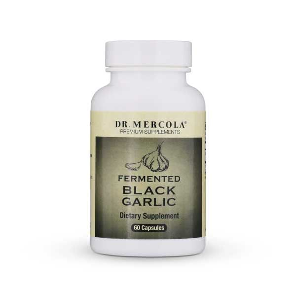 Did you know that when fermented, garlics nutrient profile is enhanced Experience its improved benefits with Dr. Mercolas Fermented Black Garlic supplement.