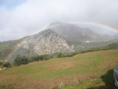 虹の世界へ