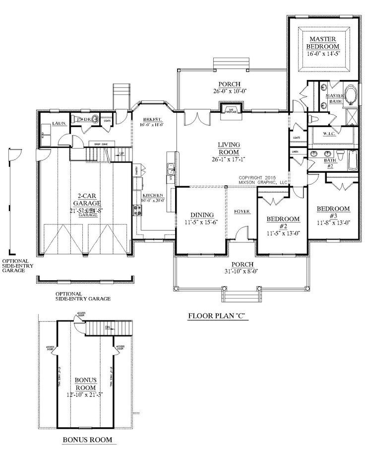 249 best House Plans by Southern Heritage Home Designs images on ...