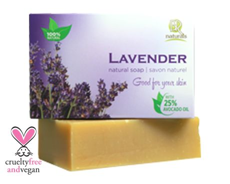 LAVENDER SOAP BAR  is gentle and great for all skin types, Lavender essential oil is very soothing for acne-prone or irritated skin. The aroma has a calming effect which aids in relaxation, which is great for winding-down after a long day.