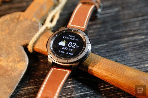 The Gear S3 works with any Android smartphone Samsung Pay on