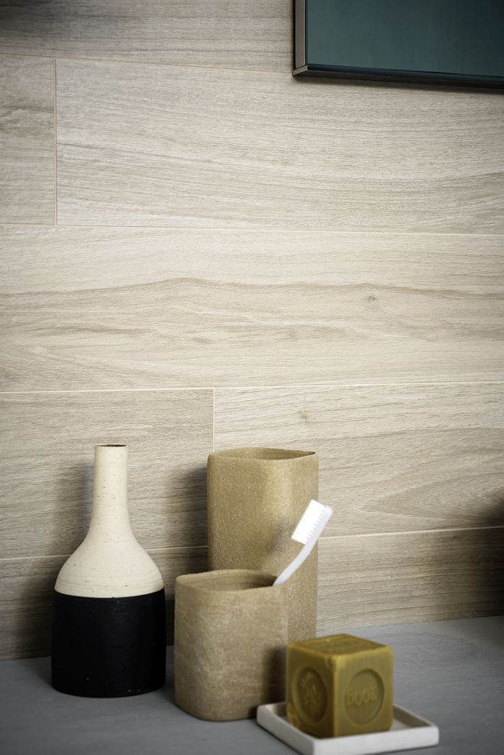 Treverkchic - teak effect flooring #Marazzi #ModenaFliser