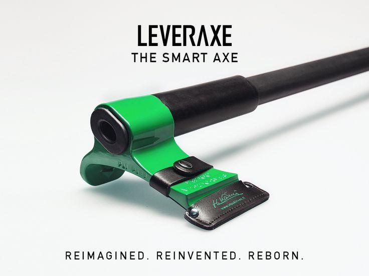 LIVE ON KICKSTARTER: https://www.kickstarter.com/projects/1949064069/new-leveraxe-the-smart-axe
