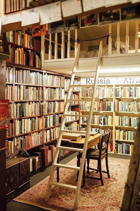 """""""There's a bookshop in Scotland that anyone can run, so I did."""""""