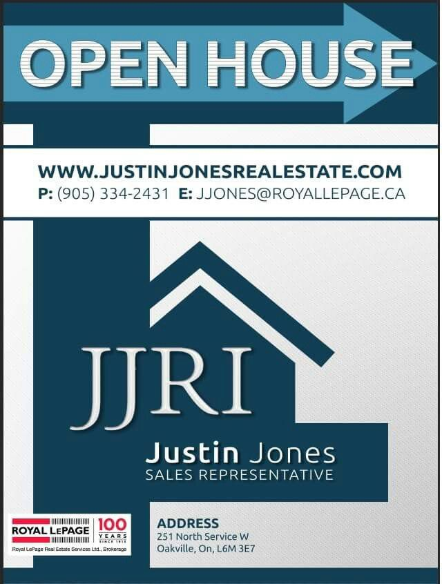 Justin Jones Real Estate Investments, FINAL Open House sign. #royallepage #realestate #realestateagents #sellyourhome #realestateagent #agents #marketing #realestateagentsmarketing #royallepageagents #advertising #royallepagesigns #realestatesigns #signs #openhouse #openhousesigns