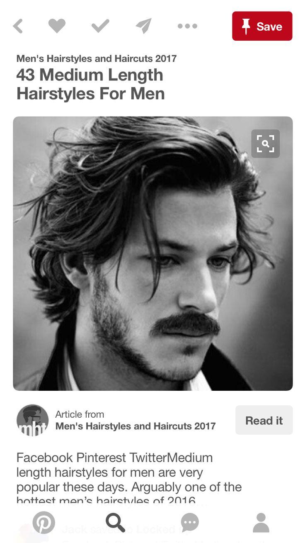 43 medium length hairstyles for men men s hairstyles and - 43 Medium Length Hairstyles For Men