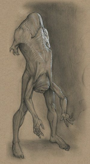 Nightmare Fuel: Monsters by Anastasios Gionis by danlev on deviantART
