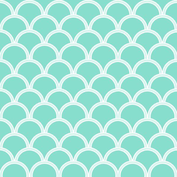 Free digital turquoise and white scrapbooking paper - ausruckbares Geschenkpapier - freebie
