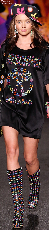 Spring 2017 Menswear Moschino - EE