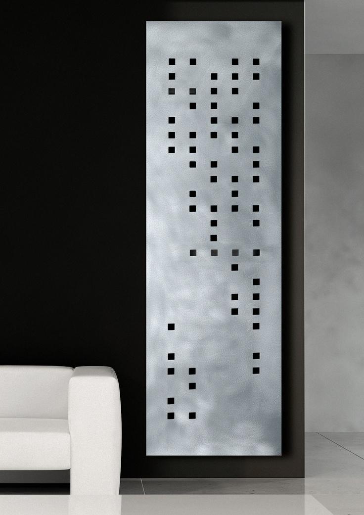 BRAILLE - Finition en ALUMINIUM satiné - dimension de 200x60 cm - Puissance de 1 000 W - pour 2 544 €