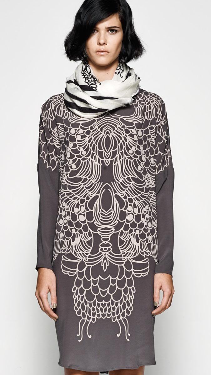 Wanja Scarf/Sif Dress