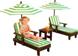 Toddler Lounge Chair With Umbrella