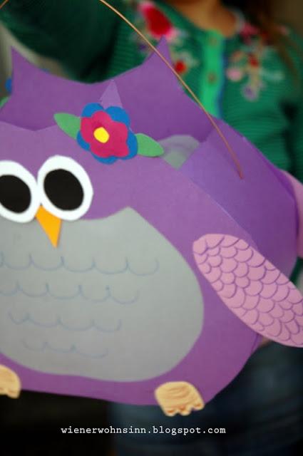 Wiener Wohnsinn: DIY Owl Latern - DIY Eulenlaterne
