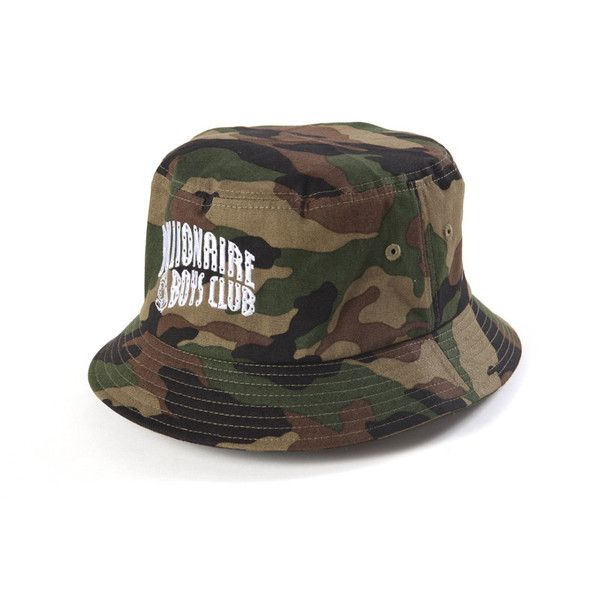 Billionaire Boys Club Arch Logo Camo Bucket Hat - Green Camo