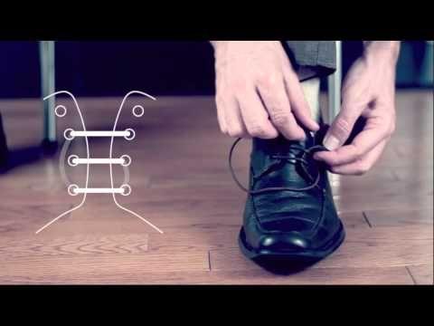 Så här gör du för att knyta skorna snyggt! 4 Klassiker!