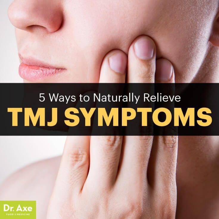 TMJ symptoms - Dr. Axe http://www.draxe.com #health #holistic #natural