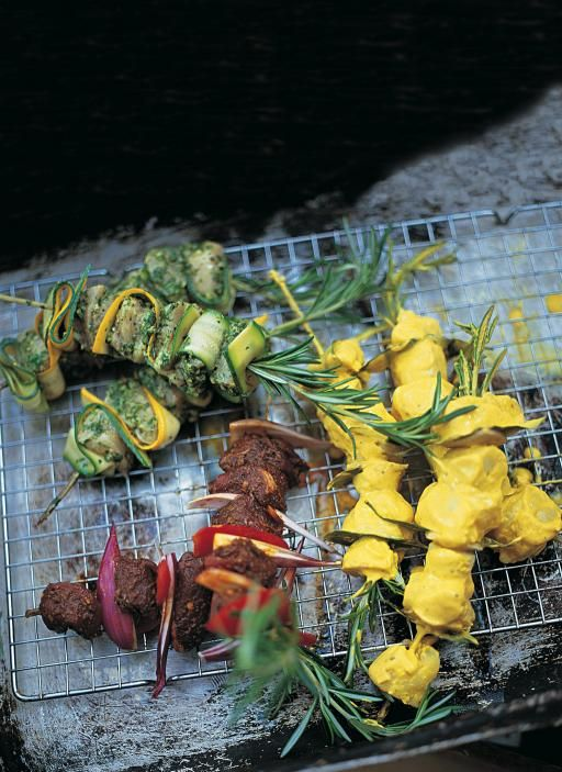 If you're cooking for a load of friends, or for a party, these kebabs will do the trick. They are so easy to make and damn tasty. Marinated in a blend of spices, they can be grilled, chargrilled or cooked on the barbie. Make sure you check out my recipes for fish and lamb kebabs as well!