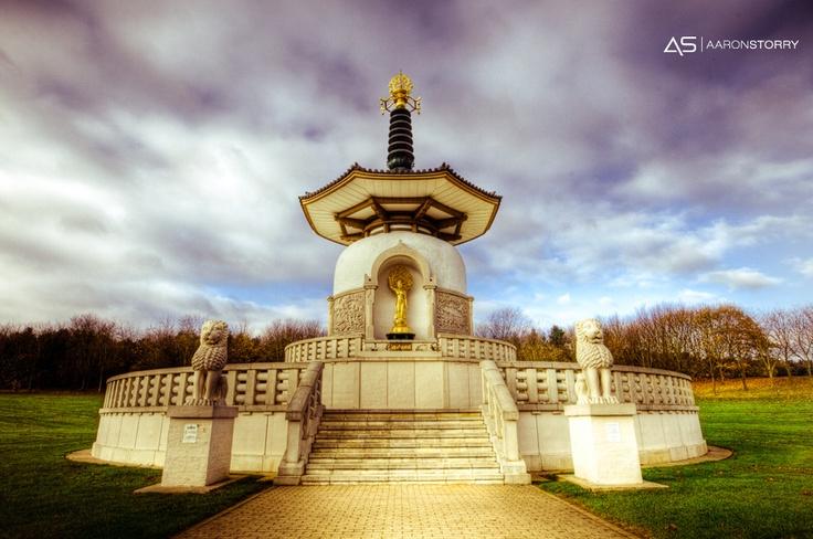 milton keynes peace pagoda